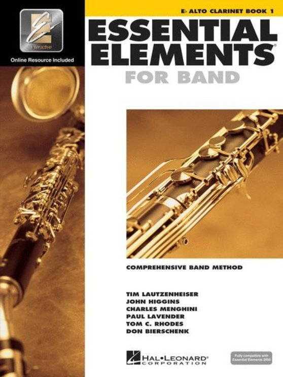 View larger image of Essential Elements for Band - Book 1, Alto Clarinet