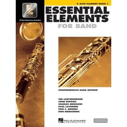 Essential Elements for Band - Book 1, Alto Clarinet