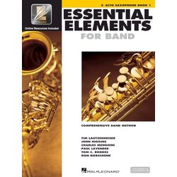 Essential Elements for Band - Book 1, Alto Saxophone