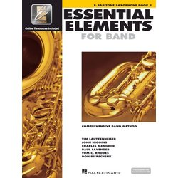 Essential Elements for Band - Book 1, Baritone Saxophone
