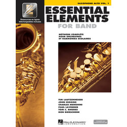 Essential Elements for Band - Book 1 (French Edition), Alto Sax