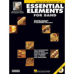 Essential Elements for Band - Book 1 (French Edition), Conductor