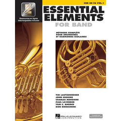 Essential Elements for Band - Book 1 (French Edition), F Horn