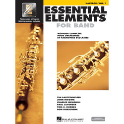 Essential Elements for Band - Book 1 (French Edition), Oboe