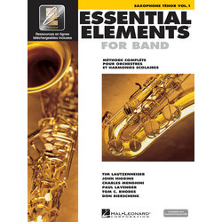 Essential Elements for Band - Book 1 (French Edition), Tenor Saxophone
