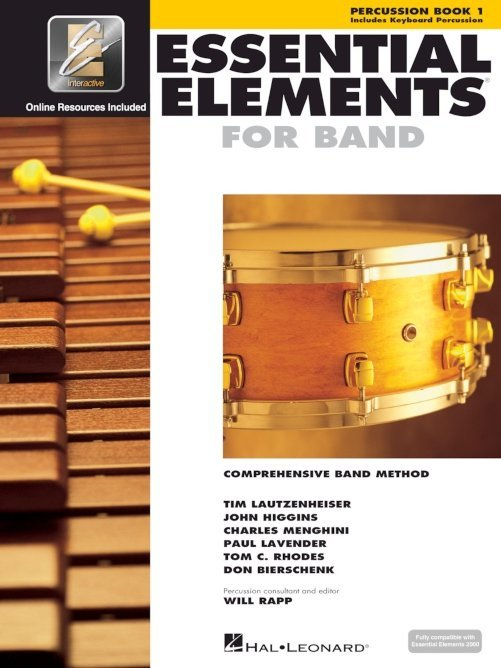 View larger image of Essential Elements for Band – Book 1, Percussion