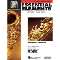 Essential Elements for Band - Book 2, Alto Saxophone