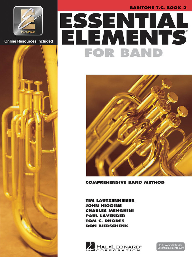 View larger image of Essential Elements for Band - Book 2, Baritone T.C