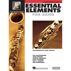 Essential Elements for Band - Book 2, Bass Clarinet