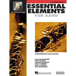 Essential Elements For Band - Book 2, Clarinet