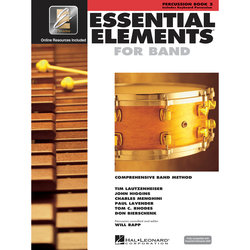 Essential Elements for Band - Book 2, Percussion