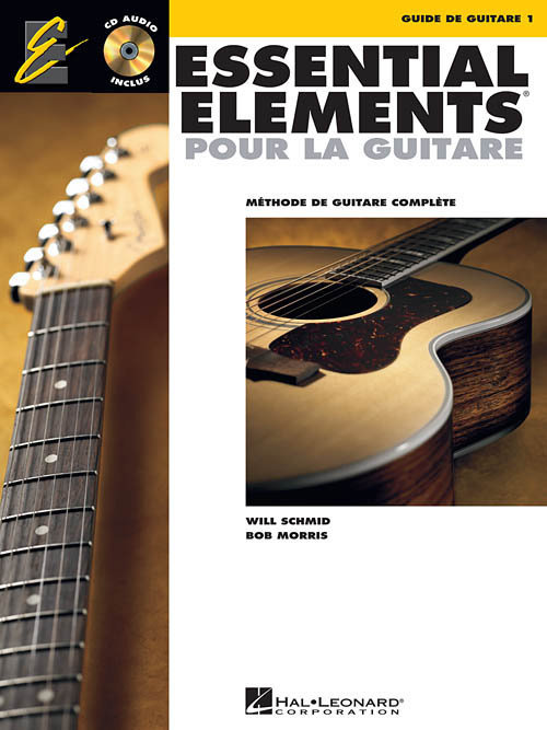 View larger image of Essential Elements for Guitar Book 1 (French Edition) w/CD