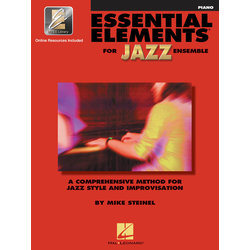 Essential Elements for Jazz Ensemble - Piano