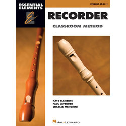 Essential Elements for Recorder - Book Only