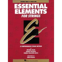 Essential Elements for Strings Book 1 (Original series) - Bass