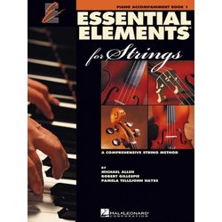 Essential Elements for Strings - Book 1, Piano Accompaniment