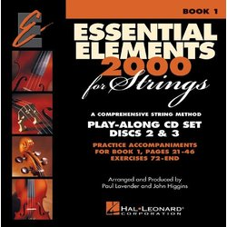 Essential Elements for Strings - Book 1, Play-Along CD Set - Discs 2 & 3 (Exercises 72-End)