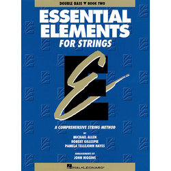 Essential Elements for Strings Book 2 (Original Series) - Bass
