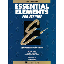 Essential Elements for Strings Book 2 (Original Series) - Cello