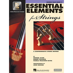 Essential Elements for Strings - Book 2, Double Bass