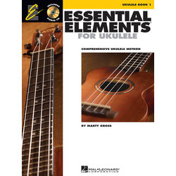 Essential Elements For Ukulele - Book 1 w/ Online Audio