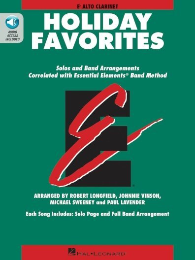 View larger image of Essential Elements Holiday Favorites - Alto Clarinet (E Flat) (OA)