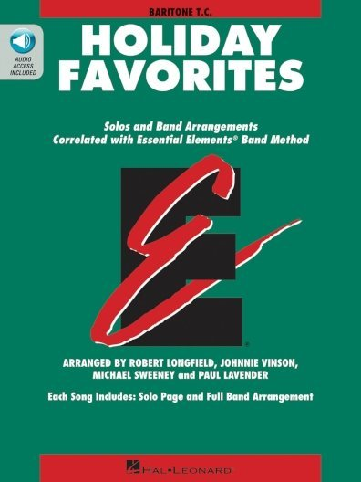 View larger image of Essential Elements Holiday Favorites - Baritone T.C (OA)