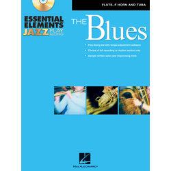 Essential Elements Jazz Play-Along - The Blues - Horn,Tuba
