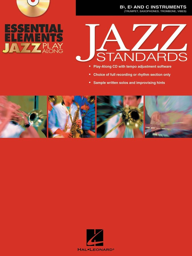 View larger image of Essential Elements Jazz Standards w/CD - Bb,Eb,C