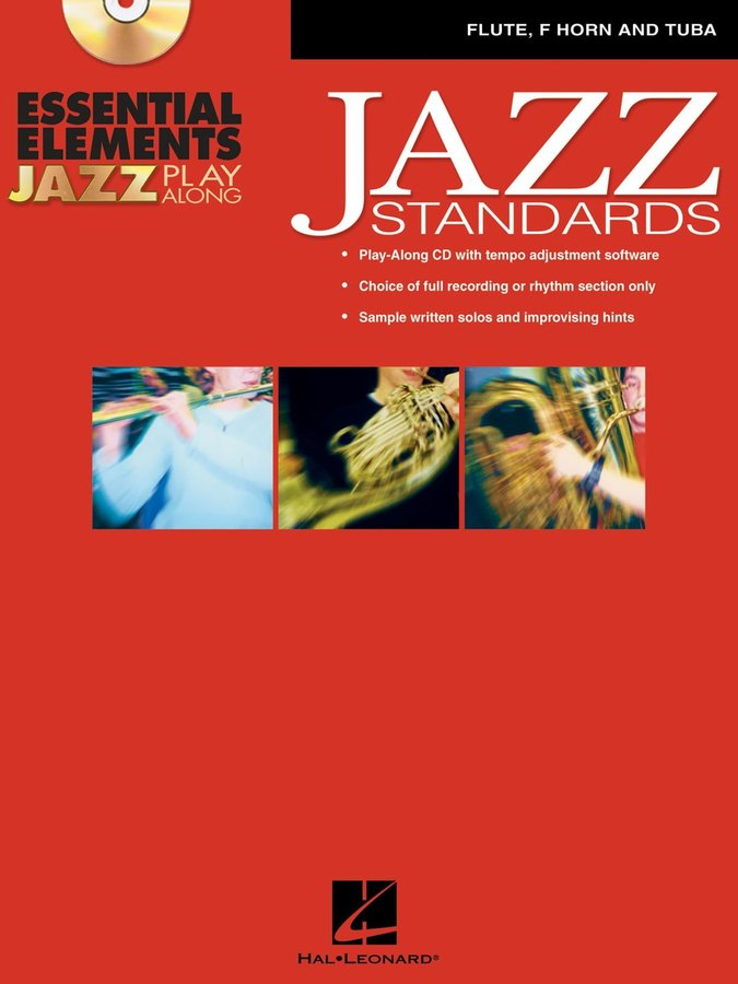 View larger image of Essential Elements Jazz Standards w/CD - Flute, F Horn, Tuba