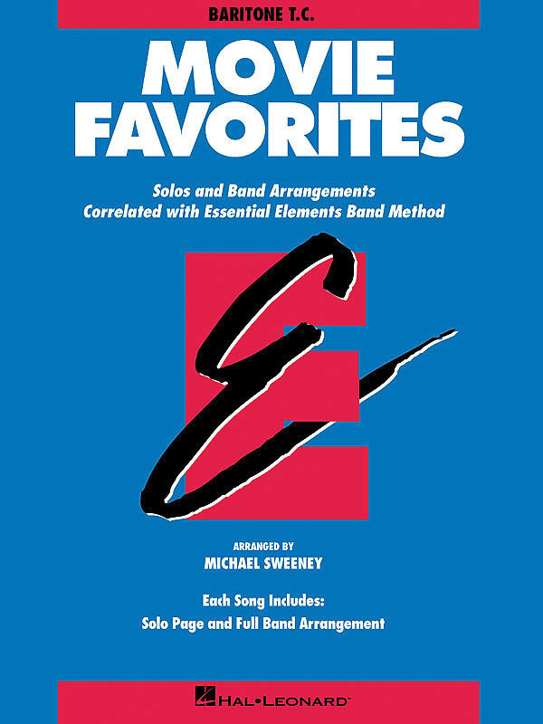 View larger image of Essential Elements Movie Favorites - Baritone B.C