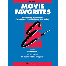 Essential Elements Movie Favorites - Bassoon