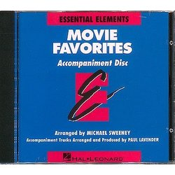 Essential Elements Movie Favorites - CD Accompaniment