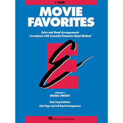 Essential Elements Movie Favorites - F Horn