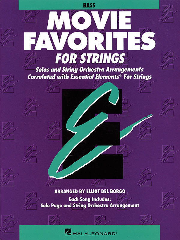 View larger image of Essential Elements Movie Favorites for Strings - Bass