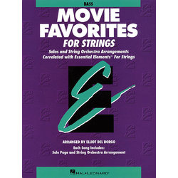 Essential Elements Movie Favorites for Strings - Bass