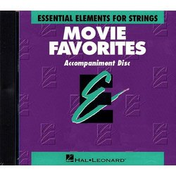 Essential Elements Movie Favorites for Strings - CD Accompaniment
