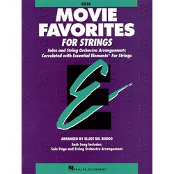 Essential Elements Movie Favorites for Strings - Cello