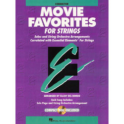 Essential Elements Movie Favorites for Strings - Conductor w/CD
