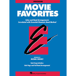 Essential Elements Movie Favorites - Keyboard Percussion
