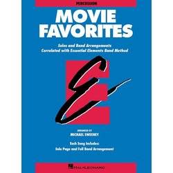 Essential Elements Movie Favorites - Percussion