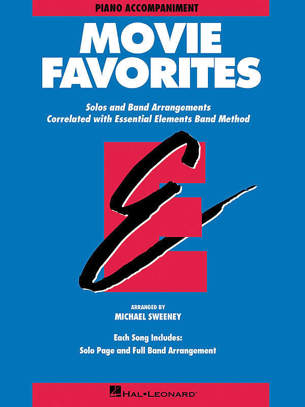 View larger image of Essential Elements Movie Favorites - Piano Accompaniment