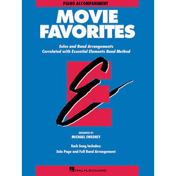 Essential Elements Movie Favorites - Piano Accompaniment