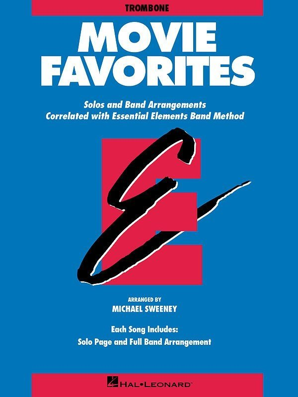 View larger image of Essential Elements Movie Favorites - Trombone