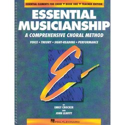 Essential Musicianship for Choir Bk 1 - Teacher