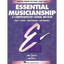 Essential Musicianship for Choir Bk 3 - Student