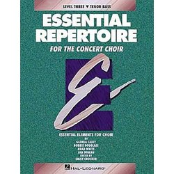 Essential Repertoire for the Concert Choir Level 3 Tenor/Bass - Performance/Accompaniment CD