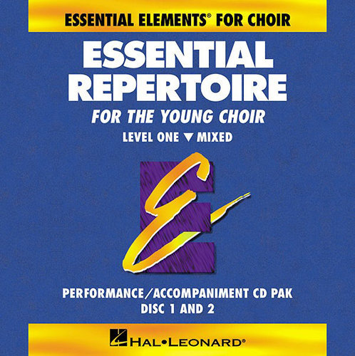 View larger image of Essential Repertoire for the Young Choir Level 1 - Mixed - Performance/Accompaniment CD