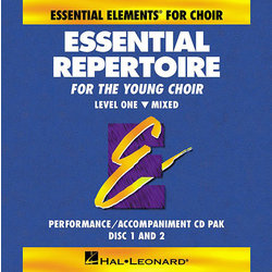 Essential Repertoire for the Young Choir Level 1 - Mixed - Performance/Accompaniment CD