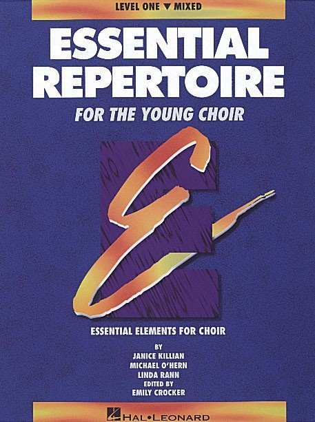 View larger image of Essential Repertoire For The Young Choir Level 1 - Mixed - Student